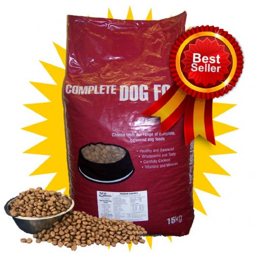 15kg Premium Adult - Hypoallergenic (Chicken & Rice) - Complete Dog Food